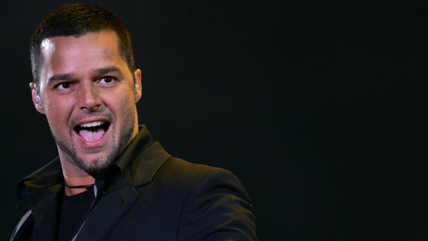 Pop star Ricky Martin wrote, &#39;YEAHHHHH!!!!! #PROP8UNCONSTITUTIONAL MOVING FORWARD!!!!!!!!&#39; <span class=meta>(AP)</span>
